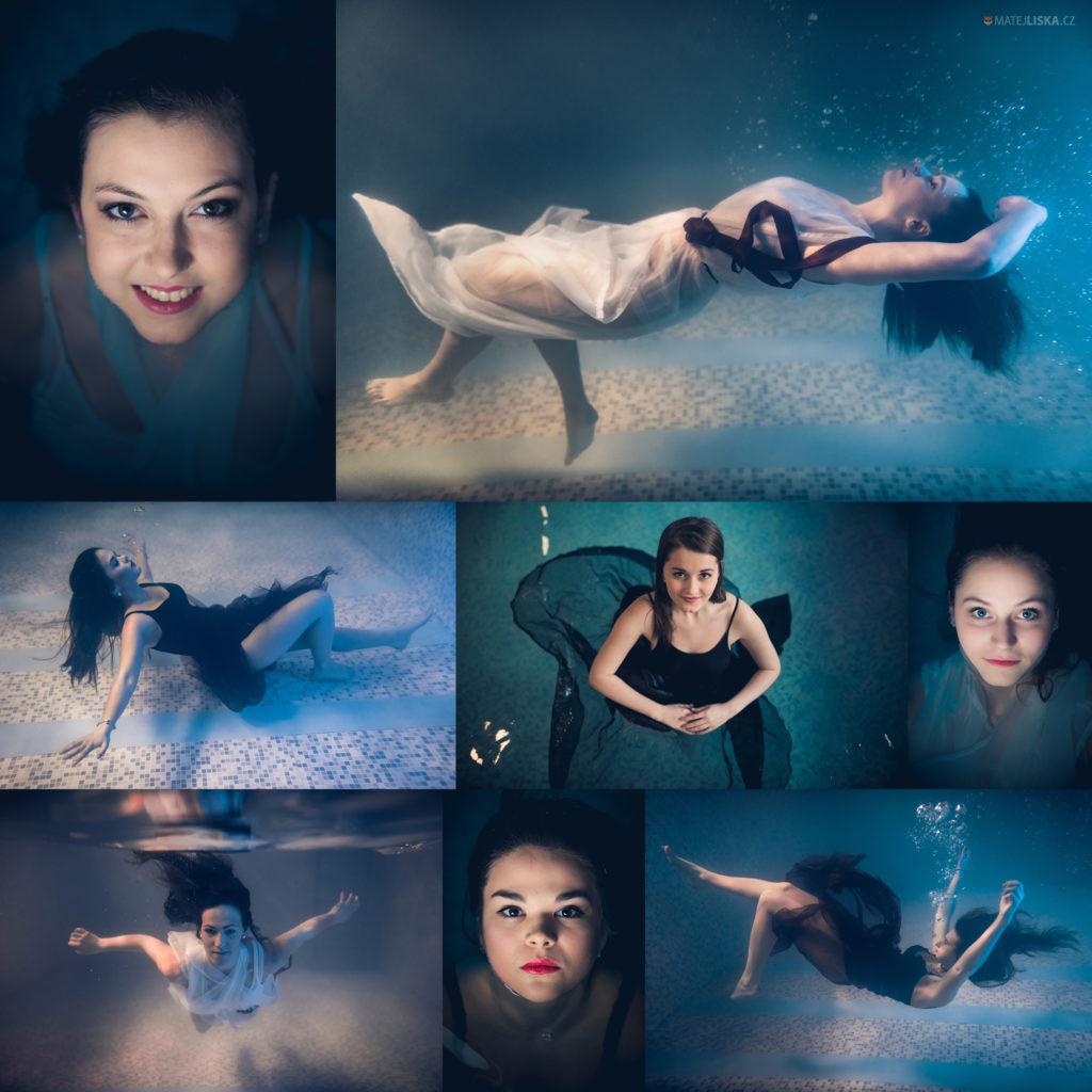 tablo v bazénu